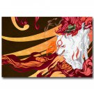 Okami Fire Wolf God Game Poster 32x24