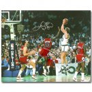 Larry Bird Michael Jordan Basketball Poster 32x24