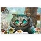 Alice In Wonderland Movie Art Poster 32x24