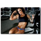 Bodybuilding Fitness Motivational Poster Gym Decor 32x24