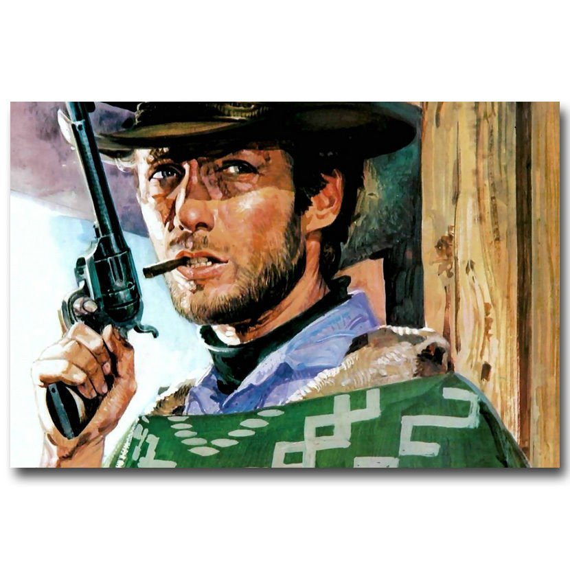 The Good The Bad And The Ugly Classic Film Poster 32x24