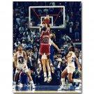 Michael Jordan The Last Shot Basketball Poster 32x24