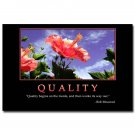 QUALITY Motivational Quotes Art Poster 32x24