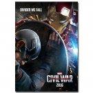 Captain America 3 Civil War Movie Poster 32x24