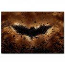Batman Joker The Dark Knight Rises Movie Art Poster 32x24