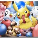 Pokemon Go Pikachu Anime Art Poster Pictures 32x24