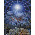 Alex Grey Psychedelic Trippy Painting Art Poster 32x24