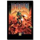 DOOM Game Art Poster Print Wall Decor 32x24