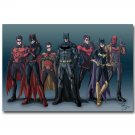 Batman DC Superheroes Comic Poster Catwoman Red Hood 32x24