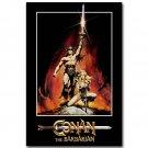 Arnold Schwarzenegger Conan The Barbarian Movie Poster 32x24