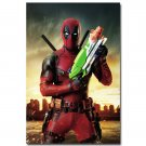 Deadpool Superhero Movie Poster 32x24
