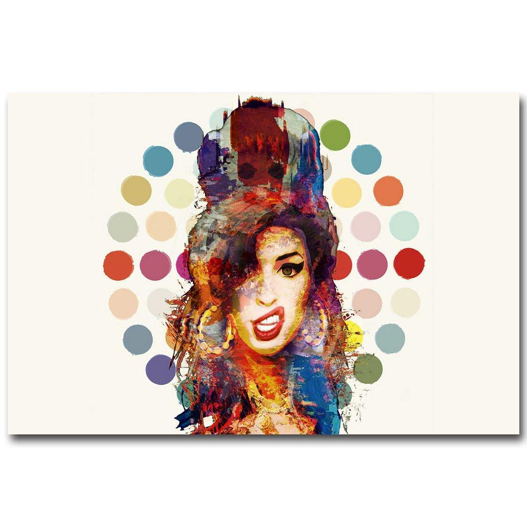 Amy Winehouse UK Music Singer Star Art Poster Print 32x24