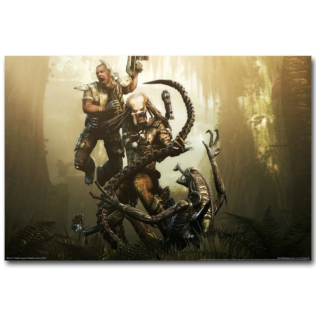 Alien Vs Predator 3 Movie Art Poster Print 32x24