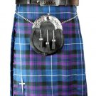New active Handmade Scottish Highlander kilt for Men in pride of Scottland size48 coloure Purple