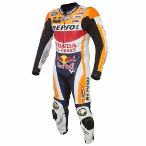 New Honda Repsol Motorbike Racing Leather Suit Custom Size