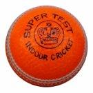 New Orrange Super Test MCC Regulation leather cricket balls pack of 6 for Indoore cricket
