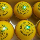 New Yellow Super Test leather cricket balls pack of 6 for Indore cricket  Match quality