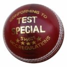 New Red Test special  156 GM MCC Regulation leather cricket balls pack of 6 for 50 overs match