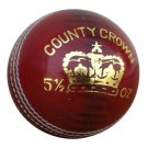 New Red County Crown 156 GM MCC Regulation leather cricket balls pack of 6 for match quality