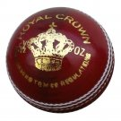 New Red Royal Crown 156 GM MCC Regulation leather cricket balls pack of 6 for match quality