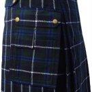 New DC active highlander  modern music Douglas utility tartan kilt size 40
