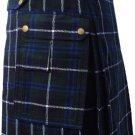 New DC active highlander  modern music Douglas utility tartan kilt size 48