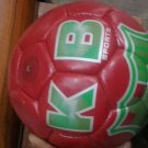 NEW KB FOOT BALL CLUB RED COLOURE SOCCER BALL