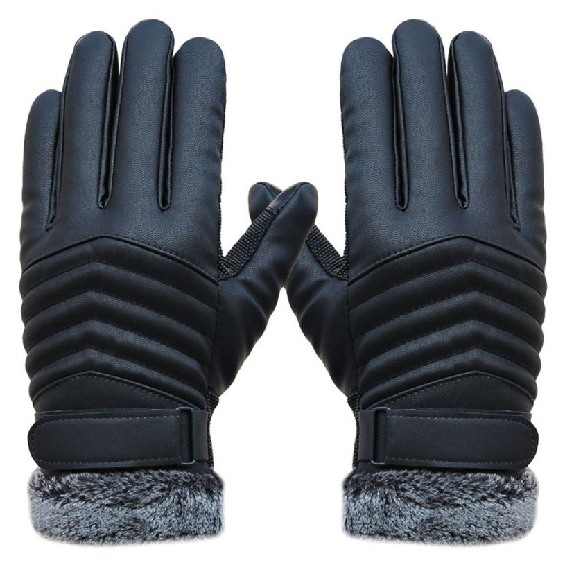 New DC ld27 Ladies  Black Lamb Skin Leather Fashion Driving Gloves Size s