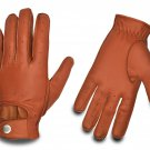 REAL LEATHER MEN'S FASHION DRIVING GLOVES STYLE  CLASSIC  Size S