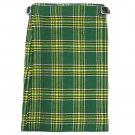 New Active Men Scottish Heritage Highlander Handmade Irish National Kilt Size 34