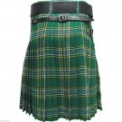 New Active Men Scottish Heritage Highlander Handmade Irish National Kilt Size 30