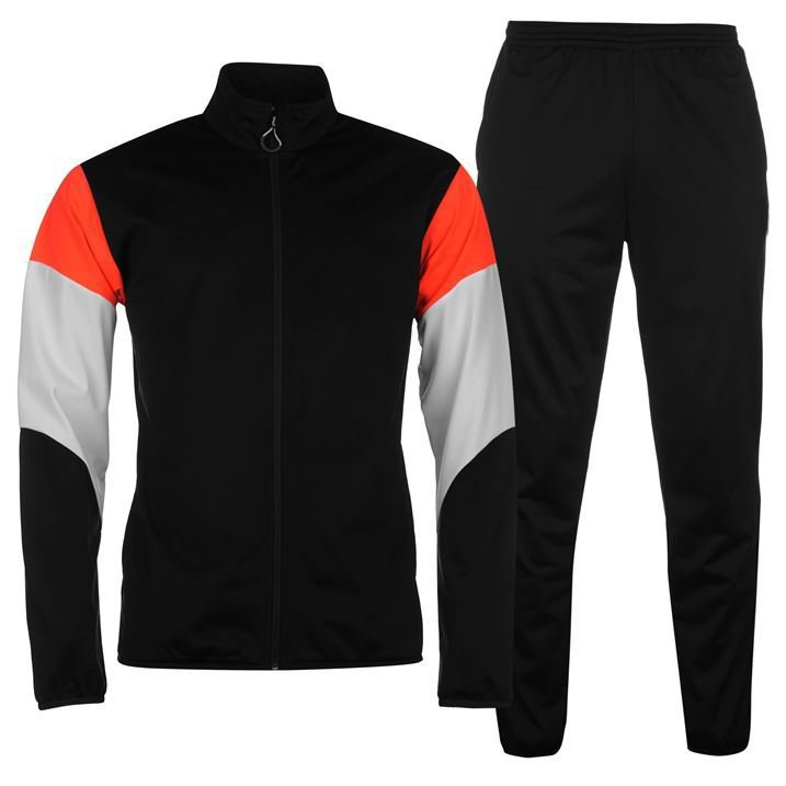 Men Sports Tracksuit Gym Jogging Running Zipper Trouser Upper Casual Jogging Size m