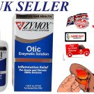Zymox Otic Enzymatic Solution 1% HC Dogs/Cats Ear Drops Pet Treatment Otitis 1.25oz *UK SELLER*