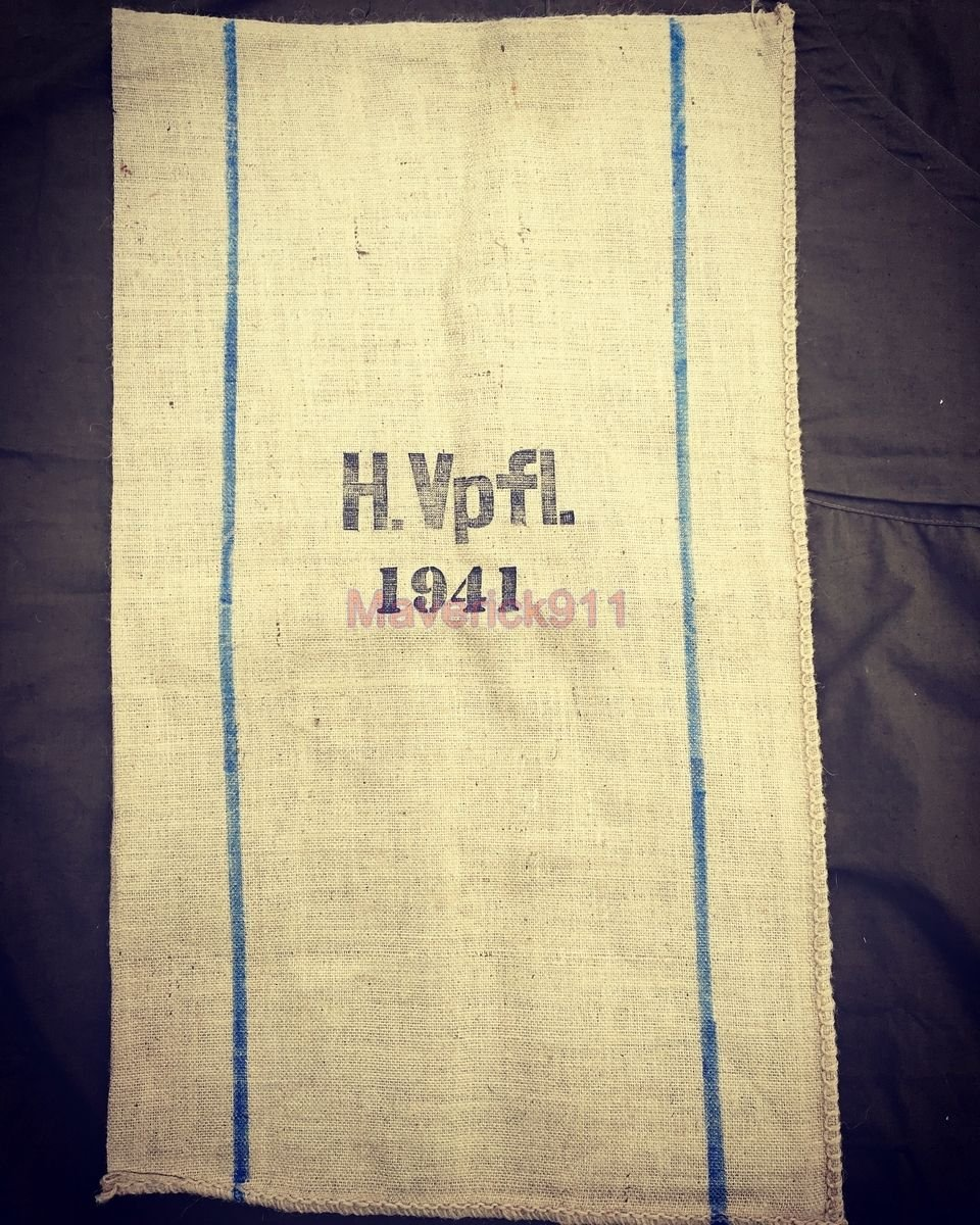 WW2 German  Cloth Bag  ( Repro )