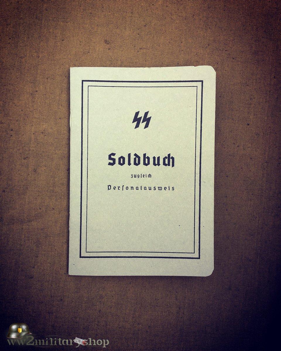 Waffen-SS Soldbuch pattern 1940