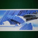 Vintage Star Wars Art 1980 ESB Ralph McQuarrie Portfolio Print #3 Defenses of Hoth