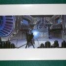 Vintage Star Wars Art 1982 ROTJ Ralph McQuarrie  Print #15 Vader vs Luke Premium Print