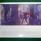 Vintage Star Wars Art 1977 ANH Ralph McQuarrie Protfolio Print #8 The Cantina
