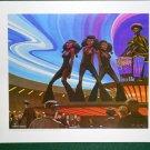 Battlestar Galactica Ralph McQuarrie Portfolio Art Print #19 Fun in the Bar