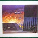 Battlestar Galactica Ralph McQuarrie Portfolio Art Print #7 Battle for Caprica