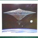 Battlestar Galactica Ralph McQuarrie Portfolio Art Print #14 Cylon Base Ship