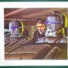 Battlestar Galactica Ralph McQuarrie Portfolio Art Print #12 Baltar and Friends
