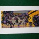 Star Wars Phantom Menace 1999 Doug Chiang Portfolio Print #4 Battle Droids