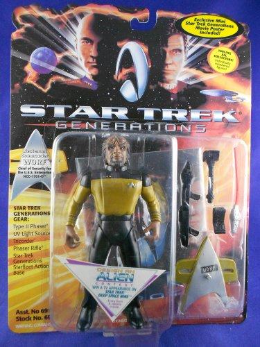Star Trek Generations 1994 �Lieutenant Commander Worf �1701-D� Playmates - MINMP