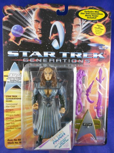 Star Trek Generations 1994 � B�Etor The Klingon �Daughter of Duras� - MINMP
