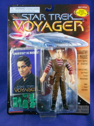 Star Trek � Voyager 1996 �Chahotay as Maquis- Second Series - Playmates - MINMP
