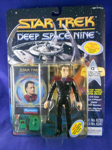 Star Trek Deep Space Nine Card 1994 � Q �Starfleet Uniform� - Playmates - MIMP