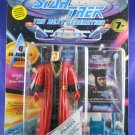 "Star Trek STNG 7th Season - 1994 – Q ""Judges Robes"" - Playmates – MIMP – W/Pog"