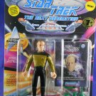 Star Trek STNG 7th Season - 1994 Lieutenant Barclay - Playmates – MINMP – W/Pog