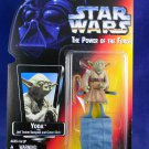"Star Wars POTF 2 1995 Yoda ""Jedi Master"" - Red Card - MIMP Power of the Force"